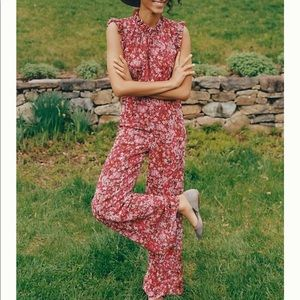 NWT Anthropologie By Ali & Jay Troubadour Jumpsuit